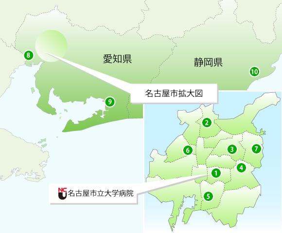 関連病院MAP